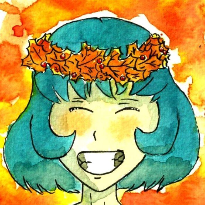 Autumn crown